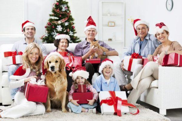 Не забудьте подготовить подарки для всей семьи