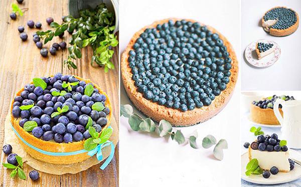 Голубику часто используют в кулинарии для приготовления выпечки