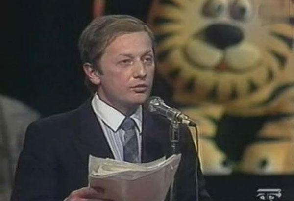 Михаил Задорнов на сцене