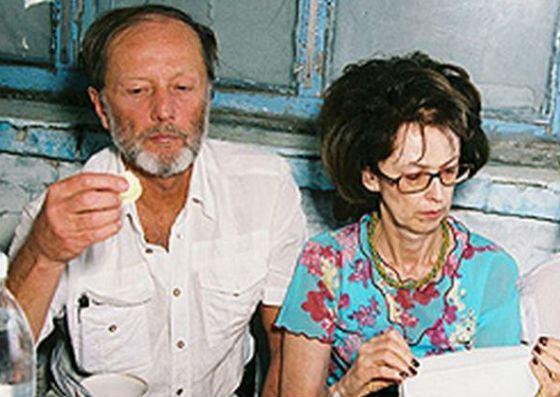 Михаил Задорнов и Велта Яновна Калнберзина