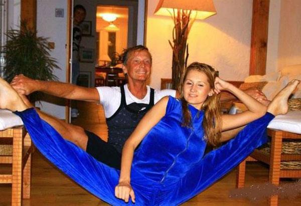 Михаил Задорнов с дочерью
