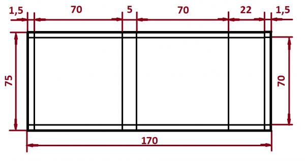 Схема выкройки наволочки с ушками