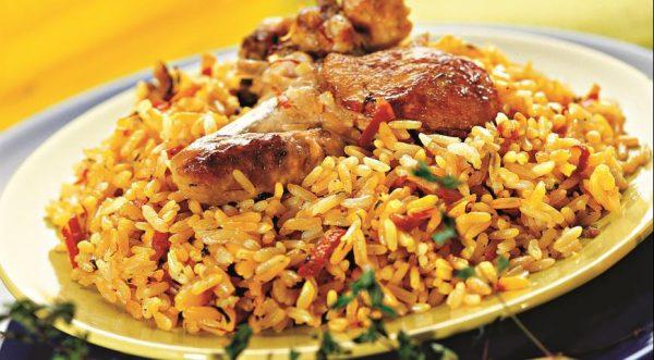 Вкусная курица с рисом