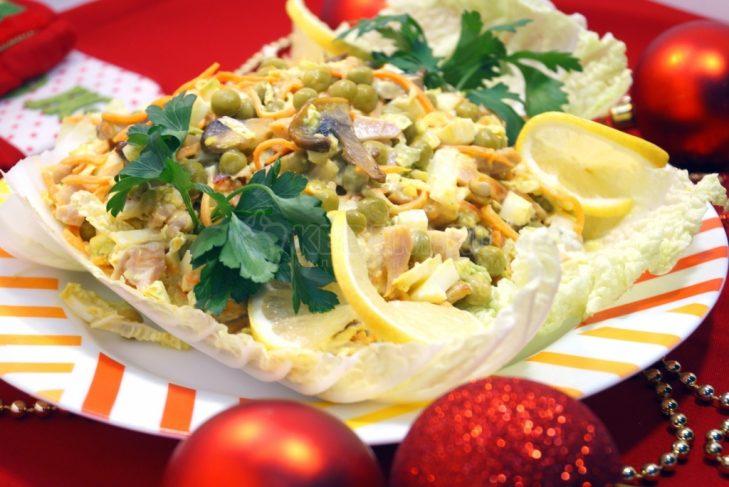 Вкусные салаты рецепты с фото пошагово с курицей