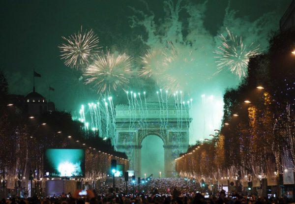 Празднование Нового года во Франции
