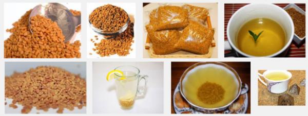 Как заваривать чай из хельбы