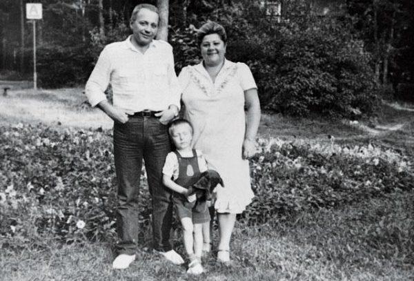 Семейное фото Масляковых