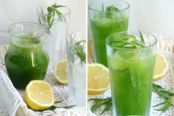 Вкусный и полезный напиток на основе тархуна