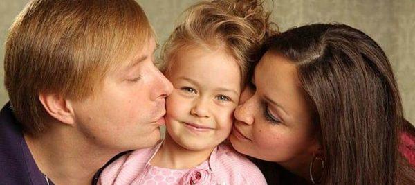 Таисия Маслякова с родителями