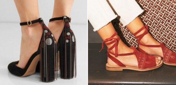 Женская обувь: фото