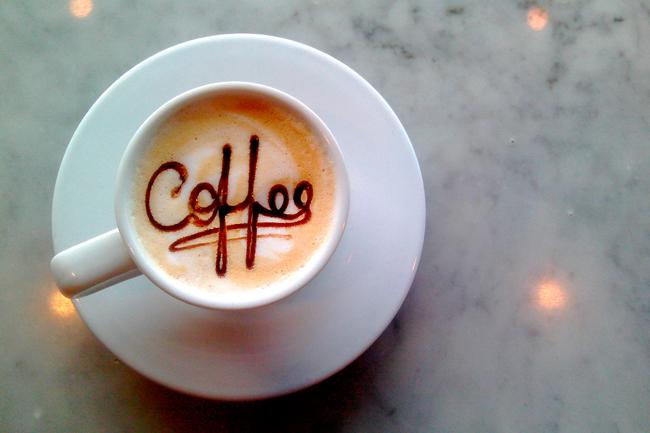 Выпейте чашку крепкого кофе