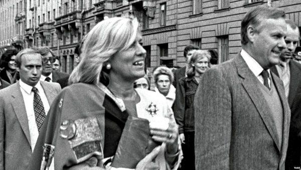 Мэр Санкт-Петербурга Анатолий Собчак