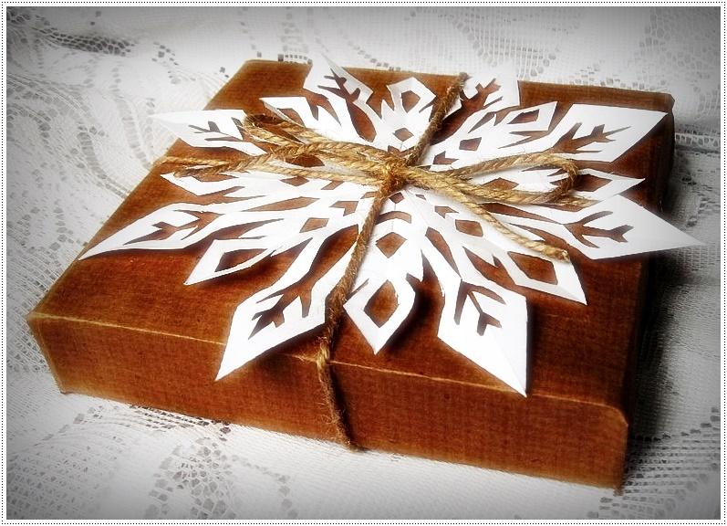 Оформление новогоднего подарка своими руками: фото