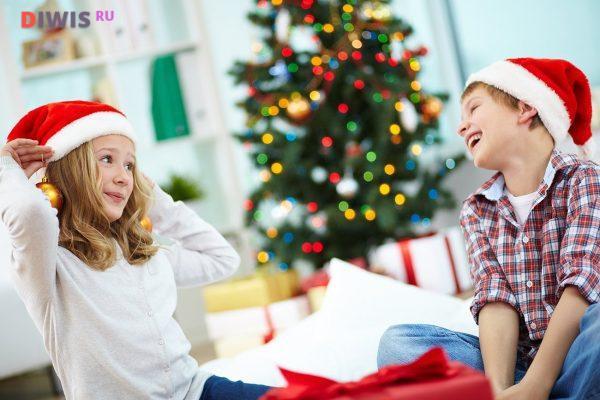 Игры на новый год для большой и маленькой семьи