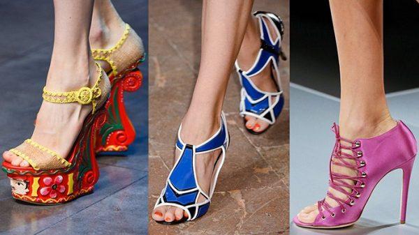Экстравагантная летняя обувь