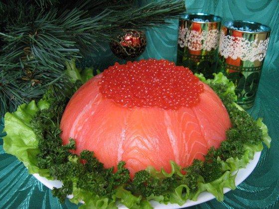 Рыбный пирог к столу
