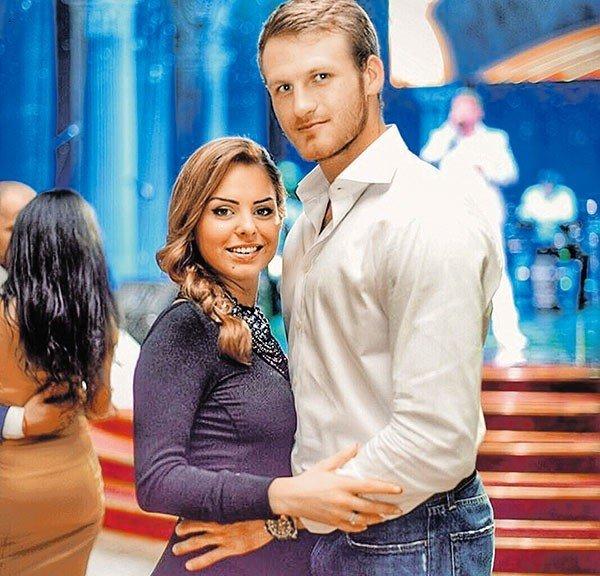 Иван Телегин с бывшей женой