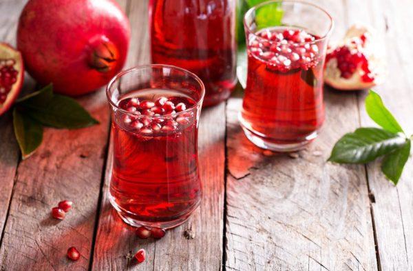 Вкусный и полезный гранатовый сок