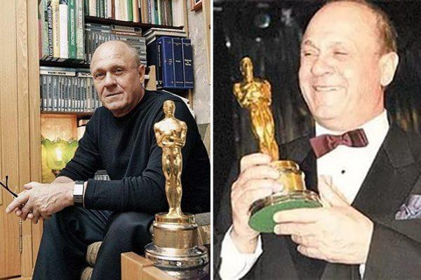 Владимир Меньшов получил премию Оскар