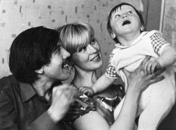 Нина с Владимиром и  с сыном