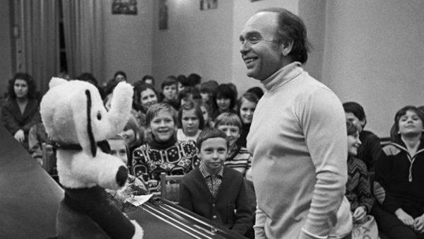 Владимир Шаинский очень любил детей