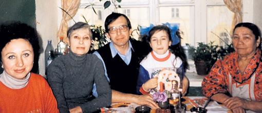 Семейное фото актера