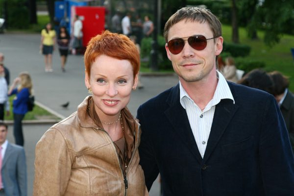 Актриса с Дмитрием Боченковым