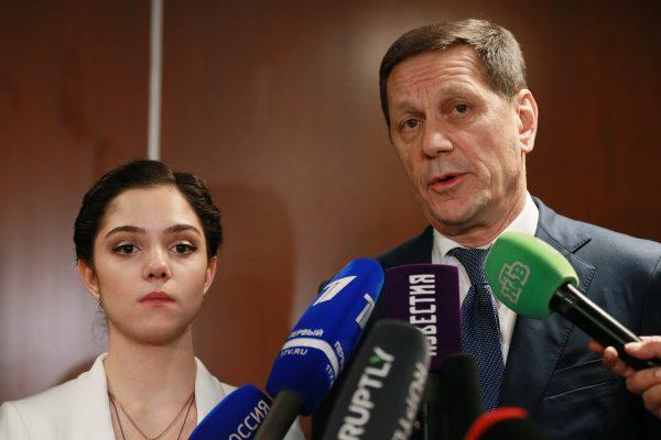 Евгения Медведева и Александр Жуков