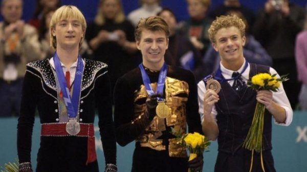 Ягудин на Олимпиаде в 2002 году