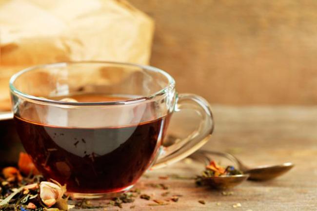 В курильском чае содержится большое количество полезных кислот
