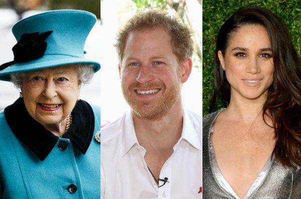 Королева Елизавета одобрила брак принца Гарри и актрисы Меган Маркл
