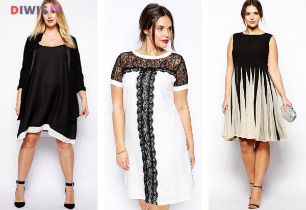 Шикарные платья на Новый год 2019 для полных женщин
