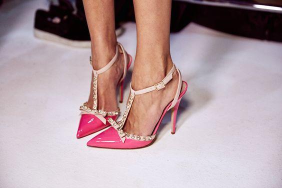 Женская обувь в стиле беби долл