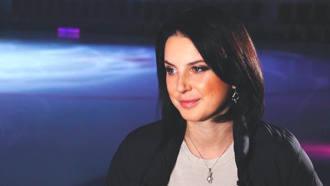 Ирина Слуцкая в роли телеведущей