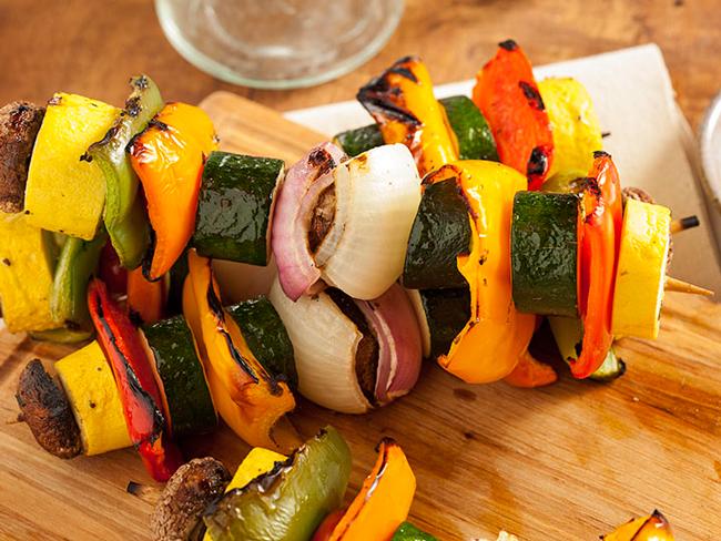 Канапе из запеченный овощей