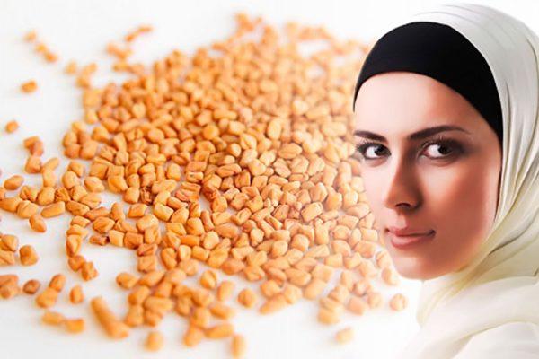 Семена хельбы применяются в косметологии