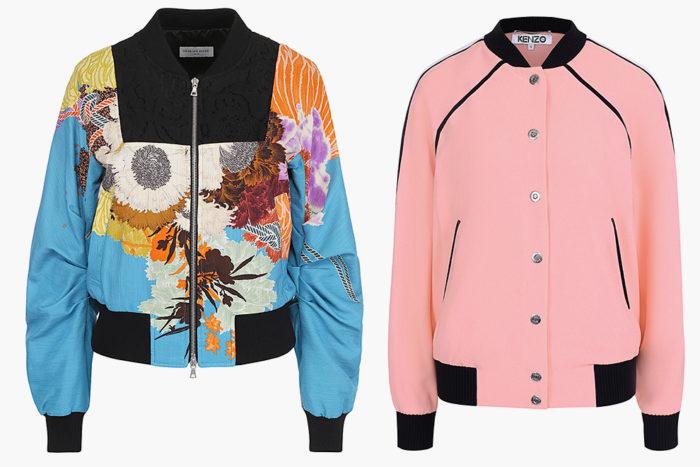 Модные куртки 2018 года