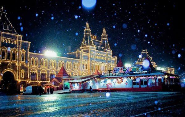 Погода в столице на новогодние каникулы