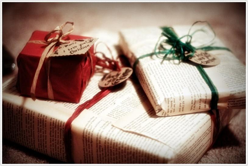 Оформление новогодних подарков своими руками