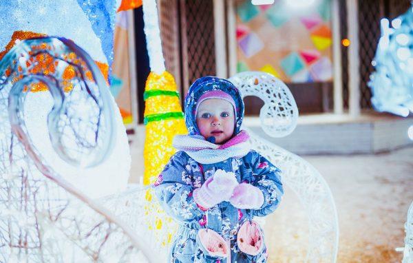 Прогулки по новогодней Москве с детьми