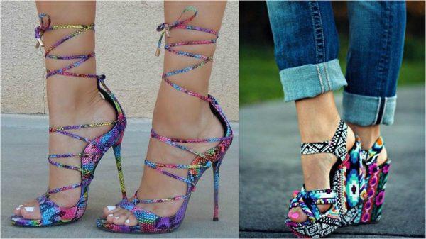 летняя модная обувь
