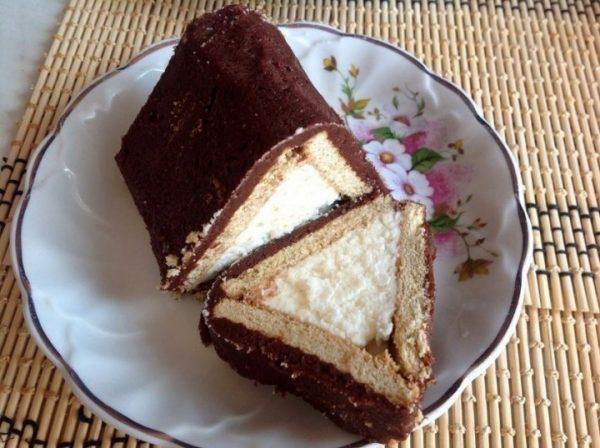 Торт из печенья классический