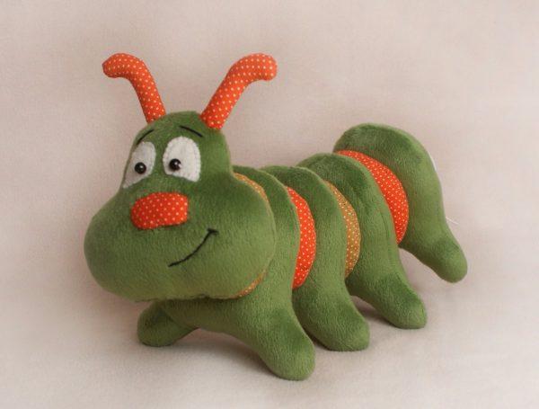 "Мягкая игрушка ""Гусеница"""