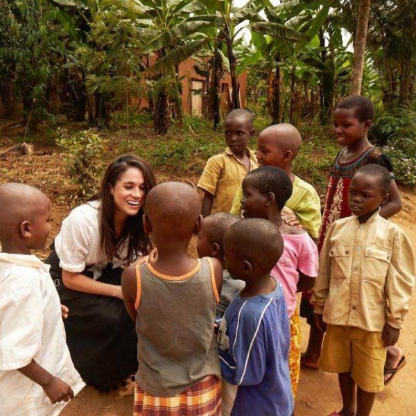Меган Маркл занимается благотворительностью