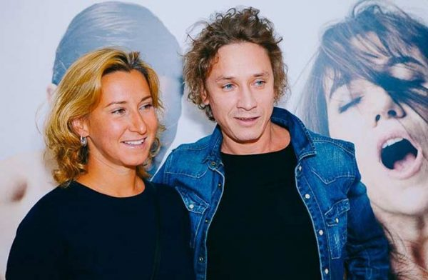 Александр Яценко со своей женой
