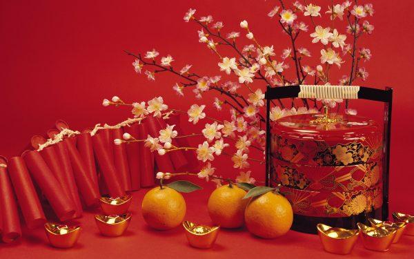 Мандарины являются олицетворением китайского Нового года