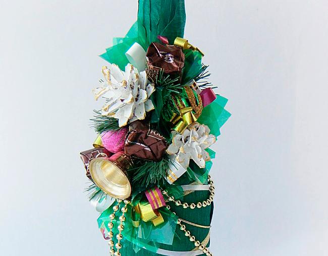 Декорирование конфетами