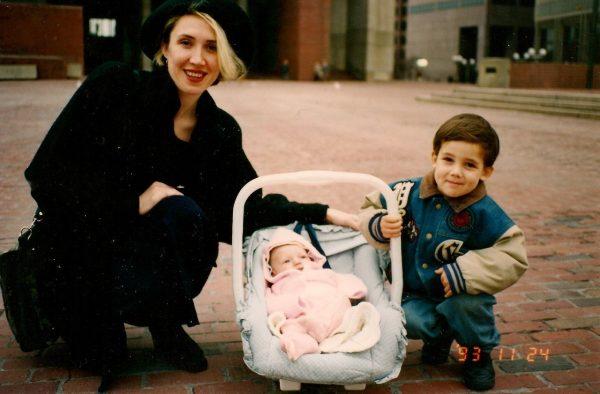 Семейное фото: Даниил с мамой