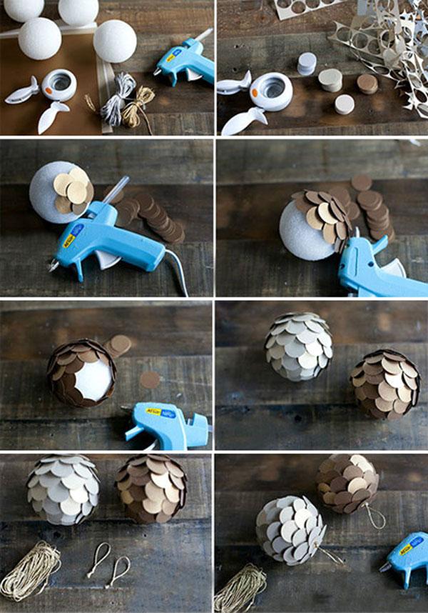 Eloshnie_shari_svoimi_rukami_10 Как сделать шарик из бумаги своими руками? Бумажные шары на Новый год