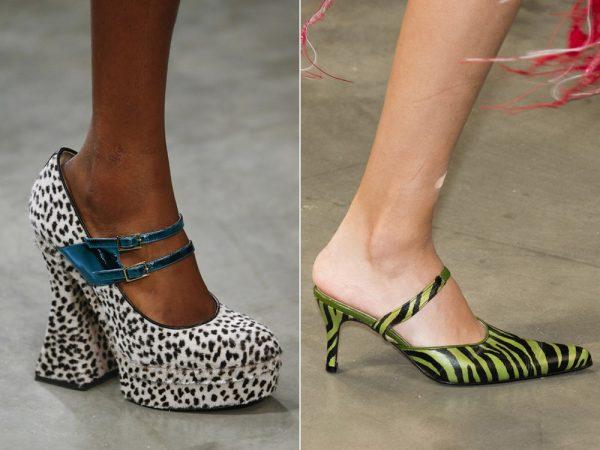 Какие принты женской обуви будут актуальными